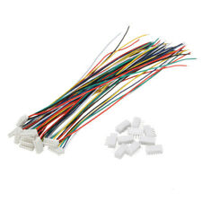 Mini Micro JST 1.5mm ZH 6-Pin Connector Plug and Wires Cables 15cm 10 Set