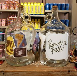 Disney Pixar UP Glass Jar Paradise Falls Bank Home is Where The Adventure Is