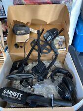 New listing Garrett At Pro Metal Detector Submersible River Beach Gold Headphones Look Nice