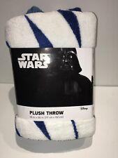 Disney Star Wars Millennium Falcon Space Ship Plush Throw Blanket 46 x 60 New