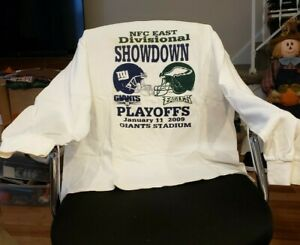 Philadelphia Eagles VS Giants 2009 Playoff T-Shirt XL NEW Long Sleeve 2 Avail