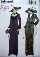 LOVELY 1910s DRESS BUTTERICK RETRO SEWING PATTERN 6-8-10-12-14 UC