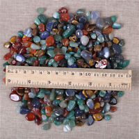 200g Bulk Tumbled Stones Mixed Agate Quartz Crystal Healing Mineral Wholesale