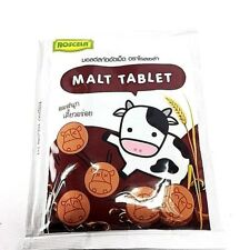 Malt Tablet Roscela  Malt Flavour Natural Aromatic Yummy Healthy Candy 6 pack