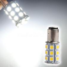 1157 Warm White 15D P21/5W 27SMD 5050 Car 12V LED Tail Brake Light Bulb Lamp yu