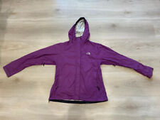 The North Face HyVent DT Purple Hooded Women's Ladies Coat Jacket Size- Medium