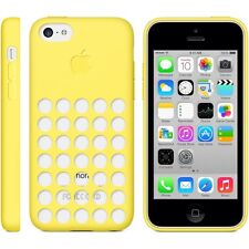 Official Genuine Apple iPhone 5C Silicone Dot Case Cover Yellow MF038ZM/A