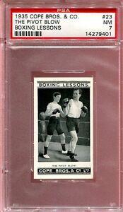 1935 Cope Bros. & Co. #23    Pivot Blow      PSA 7 !!