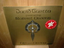 "DAVID GUETTA featuring ROBERT OWENS up & away - 12""  MAXI 45T"
