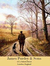 James Purdey ,Gamekeeper, Hunting,Dogs, English Countryside,Large Metal/Tin Sign