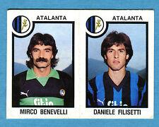 CALCIATORI PANINI 1982-83 Figurina-Sticker n.361-BENEVELLI#FILISETT-ATALANTA-New