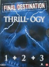 FINAL DESTINATION - THRILL-OGY 1 + 2 + 3  -  3 DVD-BOX