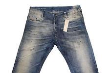 Diesel Poiak 0808Y Slim Tapered Jeans W28 L32 100% Authentique