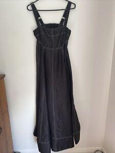Lee Mathews Maxi Dress S1 linen/silk