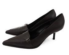 Marc Cain Pumps 39 braun high heels Leder Schuhe neu