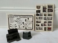 STAR WARS HOTH ION CANNON UNUSED DECAL SHEET COMPUTERS INSTRUCTION LOT KENNER 82