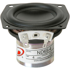"Dayton Audio ND65-4 2-1/2"" Aluminum Cone Full-Range Driver"