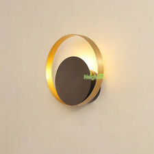 Modern Round Moon Wall Light Sconce Bedroom Home Decoration LED Wall Lamp