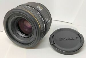 Excellent+++ Sigma EX 50mm f/2.8 D Macro Lens for Nikon with F/R Caps from Japan