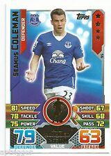 2015 / 2016 EPL Match Attax Base Card (95) Seamus COLEMAN Everton