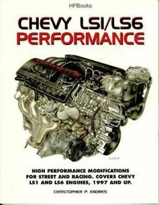 Chevy Ls1 Ls6 Performance Modifications 1997 And Up Manual Book Racing Chevrolet