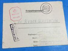 1940 Holocaust WW2 STALAG 344 Letter Type Mail From Josef Schusheim To Ruben