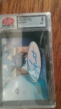 2001 Topps Finest Ben Sheets Auto graded 9 mint Milwaukee Brewers #fa-bs