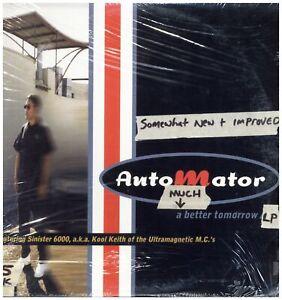 Automator - A Much Better Tomorrow '00 2xLP US ORG!! Kool Keith DJ Q-Bert