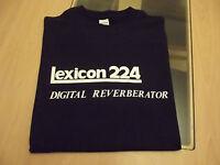 RETRO LEXICON 244 DIGITAL REVERB T SHIRT DESIGN S M L XL XXL