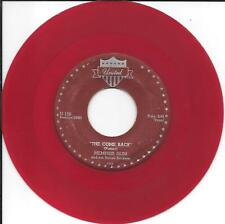 MEMPHIS SLIM ~ THE COME BACK / FIVE O' CLOCK BLUES ~ UNITED ~ RED VINYL