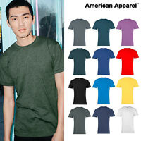 American Apparel Polycotton Plain crew neck Tee (BB401) Blank Unisex T-Shirt