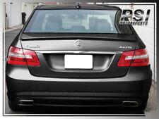 10-14 Benz W212 Unpainted AMG Type Trunk Spoiler + OE Roof Lip E350 E550 Sedan