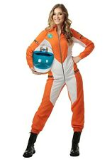 WOMEN'S PLUS SIZE ASTRONAUT JUMPSUIT SIZE 2X (w/defect)