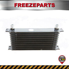 Racing Universal 10 Row Engine Transmission 10-AN Oil Cooler oilcooler Black