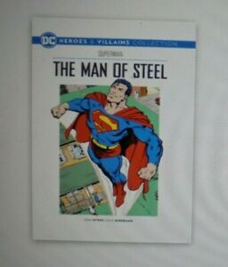 DC HEROES & VILLAINS COLLECTION - Issue 1 - 17 - Latest Issue, #17, MAN OF STEEL