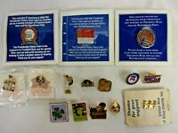 Lot of Lapel Pins US Postal, Statue Liberty United Way Republican RNC Vintage