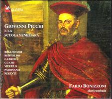 Picchi e la scuola veneziana Harpsichord Fabio Bonizzoni CD Arpa Bertoldo NUOVO