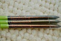 3X Pixi by Petra Endless Silky Eye Pen Black/Copper/Sage Full Size Pencil Sealed