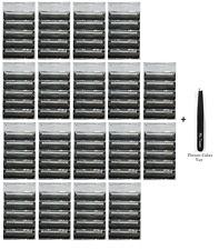 Gillette Atra Plus Razor Blade Cartridges, Bulk Packaging, 90 Count + Tweezer