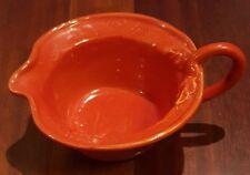 """VIETRI BELLEZZA Gravy Sauce Boat Tomato Red 2.5"""""""
