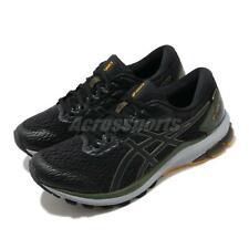Asics GT-1000 9 G-TX Gore-Tex Black Green Men Running Shoes Sneaker 1011A889-001