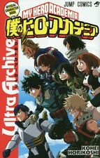 My Hero Academia Official Character Book Ultra Archive Boku no Hero Comic F/S
