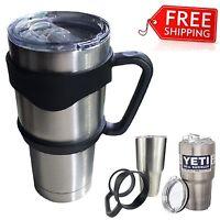 Handle for 30 Oz Tumbler Holder Cup Travel Drinkware Travel Mug fit YETI Rambler