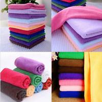 Hot Microfibre Detailing Car Cleaning Scrubing Waxing Polishing Cloth Towel Soft
