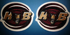 2 Lot Rare Hershey Bears AHL CCM / Maska Hockey Jersey Shoulder Patches Crests B