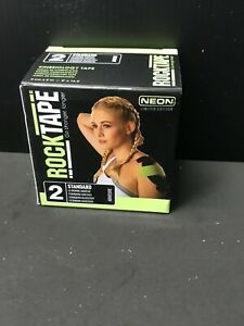 RockTape Kinesiology tape 2-Inch X 16.4-Feet CrossFit (limited edition neon)