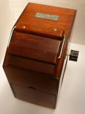 Vintage Johnson Exactum Wooden Contact Printer & Darkroom Lamp, Boxed VGC