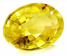 1,0 ct Light Yellow Tourmaline - Oval Portuguese cut - VVS - Madagascar origin