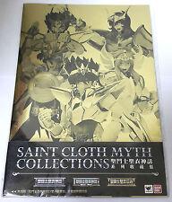 BANDAI SAINT SEIYA SAINT CLOTH MYTH COLLECTIONS BOOK HONG KONG LIMITED