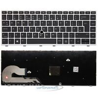 Replacement For HP EliteBook 840 G6 Notebook Keyboard Frame Trackpoint UK Layout